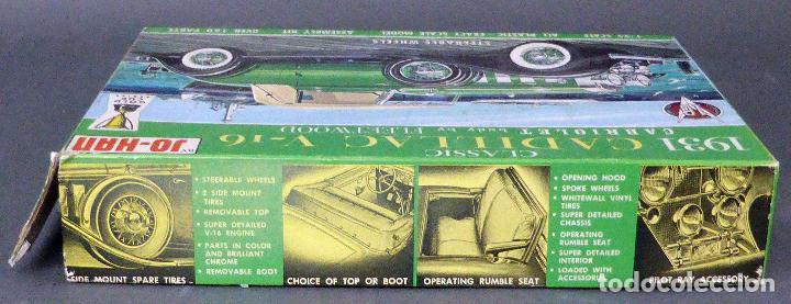 Maquetas: Caja vacía Cadillac V 16 Classic 1931 Jo Han Made in USA - Foto 3 - 97700623