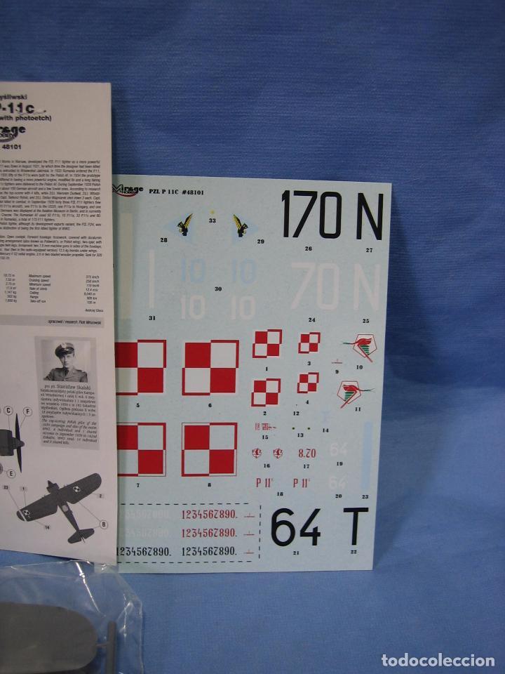 Maquetas: Maqueta de montaje. Avión Samolot Bombowy Pal-37 de Mirage Hobby - Foto 2 - 97771299