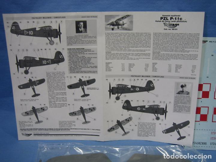 Maquetas: Maqueta de montaje. Avión Samolot Bombowy Pal-37 de Mirage Hobby - Foto 3 - 97771299