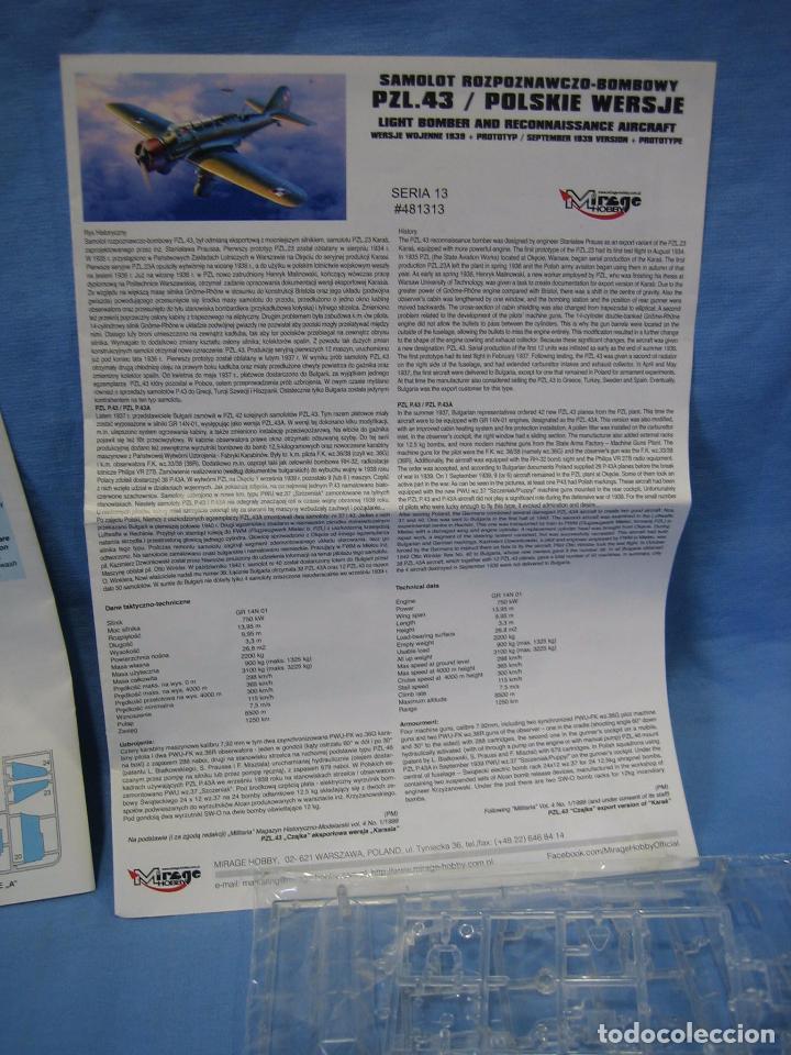 Maquetas: Maqueta de montaje. Avion Pal:43/Polskie Wersje de Mirage Hobby - Foto 4 - 97776579