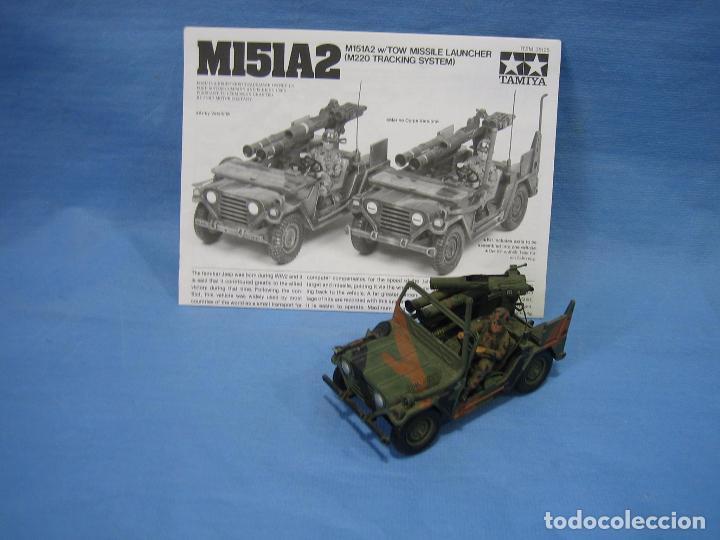 MAQUETA DE MONTAJE . EJÉRCITO AMERICANO M151 A2 TOW MISSILE LAUNCHER DE TAMIYA SCALA 1/35 (Juguetes - Modelismo y Radiocontrol - Maquetas - Militar)