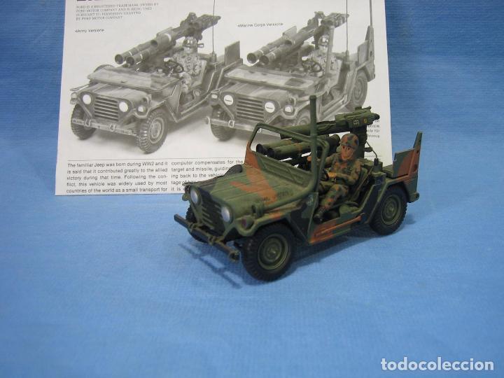 Maquetas: Maqueta de montaje . ejército Americano M151 A2 Tow Missile Launcher de Tamiya Scala 1/35 - Foto 2 - 97878487