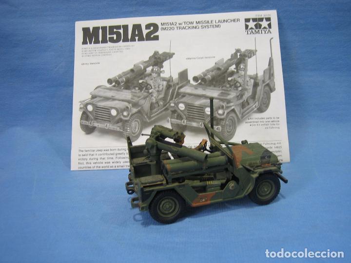 Maquetas: Maqueta de montaje . ejército Americano M151 A2 Tow Missile Launcher de Tamiya Scala 1/35 - Foto 3 - 97878487