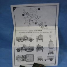 Maquetas: MAQUETA DE MONTAJE . WHITE HALA-TRACK M-3A1 DE AIRFIX SCALA 1/72. Lote 97878703