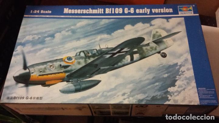 MESSERSCHMITT BF 109 G-4 EARLY VERSION. TRUMPETER 1/24 (Juguetes - Modelismo y Radio Control - Maquetas - Aviones y Helicópteros)