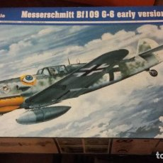 Maquetas: MESSERSCHMITT BF 109 G-4 EARLY VERSION. TRUMPETER 1/24. Lote 98133679