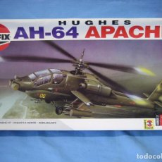 Maquetas: MAQUETA DE MONTAJE. HELICÓPTERO AH-64 APACHE HUGHES 1/48 DE AIRFIX 1992 FRANCE. Lote 98168611
