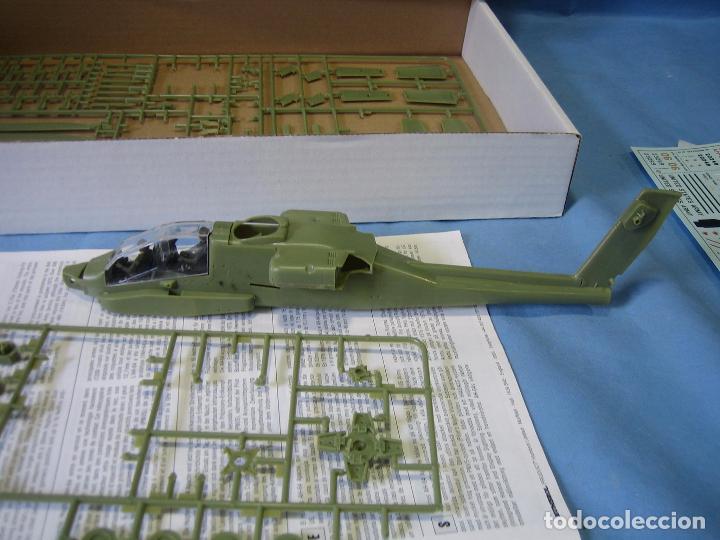 Maquetas: Maqueta de montaje. Helicóptero AH-64 Apache Hughes 1/48 de Airfix 1992 France - Foto 8 - 98168611