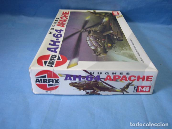 Maquetas: Maqueta de montaje. Helicóptero AH-64 Apache Hughes 1/48 de Airfix 1992 France - Foto 11 - 98168611