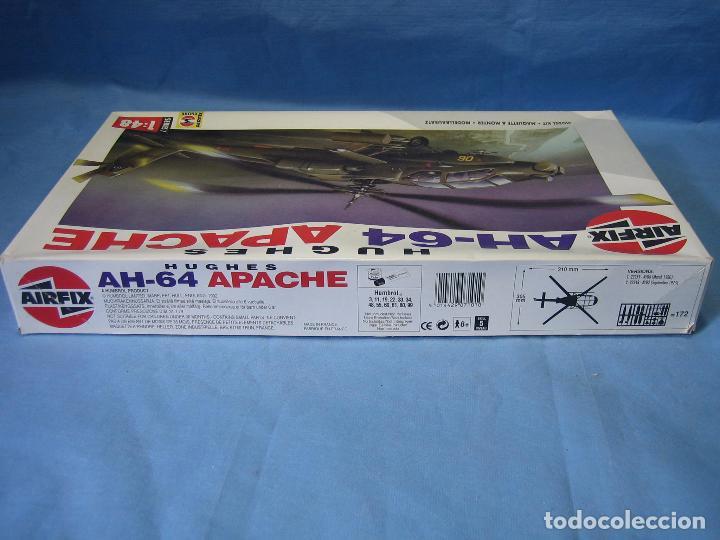 Maquetas: Maqueta de montaje. Helicóptero AH-64 Apache Hughes 1/48 de Airfix 1992 France - Foto 12 - 98168611