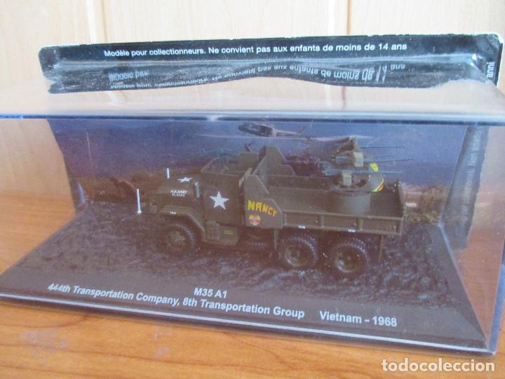 ALTAYA: BLINDADOS DE COMBATE , Nº 11 - M-35 A1 GUN TRUCK (Juguetes - Modelismo y Radiocontrol - Maquetas - Militar)