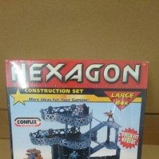 Maquetas: HEXAGON CONFLIX CONSTRUCTION SET PRECINTADO. Lote 98354915