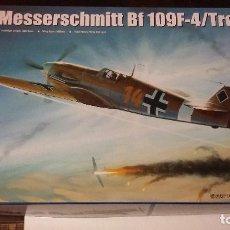 Maquetas: MESSERSCHMITT BF-109 F-4 TROP. TRUMPETER 1/32. Lote 98375963