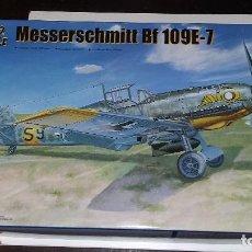 Maquetas: MESSSERSCHMITT BF 109 E7. TRUMPETER 1/32. Lote 98375987