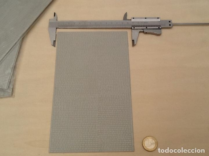Maquetas: Planchas de muro blanco para maquetas, trenes o warhammer - Foto 3 - 98645211