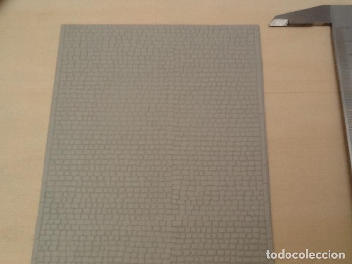 Maquetas: Planchas de muro blanco para maquetas, trenes o warhammer - Foto 6 - 98645211