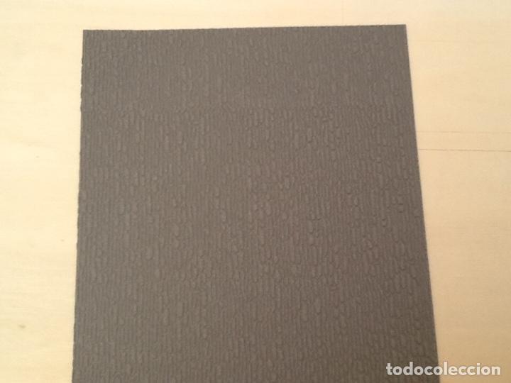 Maquetas: Planchas de muro flexible en tono gris para maquetas, trenes o warhammer - Foto 3 - 98646795