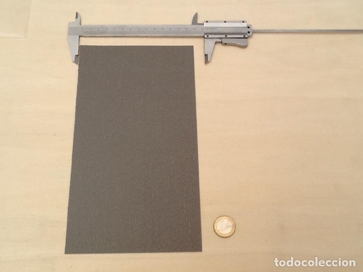 Maquetas: Planchas de muro flexible en tono gris para maquetas, trenes o warhammer - Foto 5 - 98646795