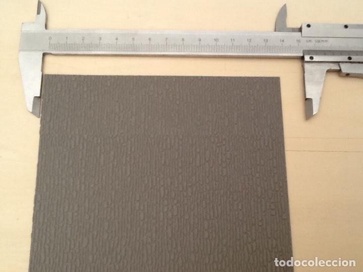Maquetas: Planchas de muro flexible en tono gris para maquetas, trenes o warhammer - Foto 6 - 98646795
