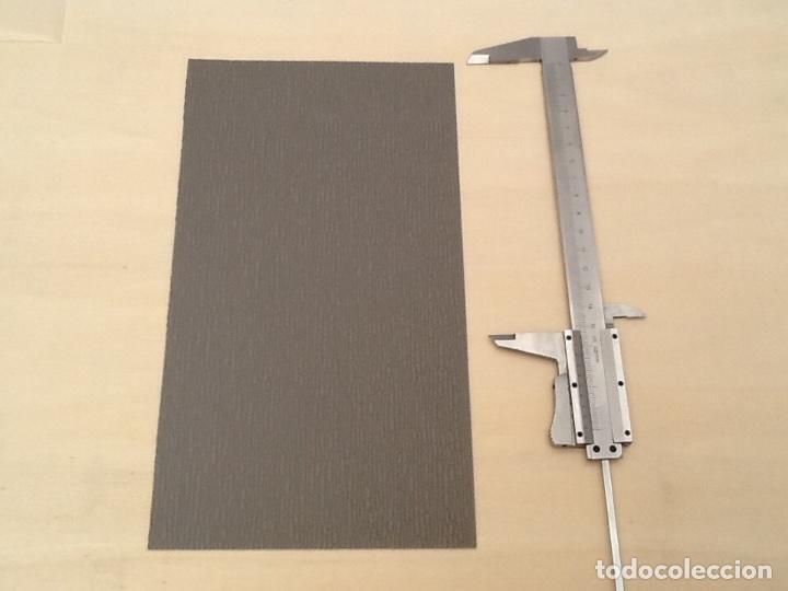 Maquetas: Planchas de muro flexible en tono gris para maquetas, trenes o warhammer - Foto 7 - 98646795