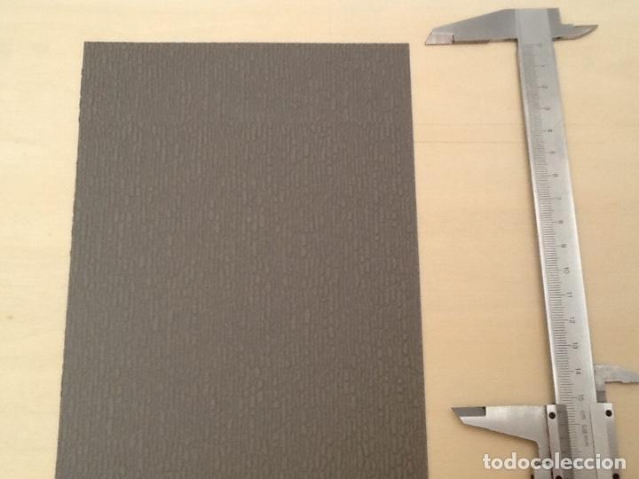Maquetas: Planchas de muro flexible en tono gris para maquetas, trenes o warhammer - Foto 8 - 98646795