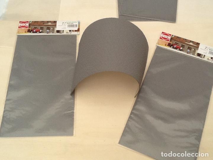 Maquetas: Planchas de muro flexible en tono gris para maquetas, trenes o warhammer - Foto 9 - 98646795