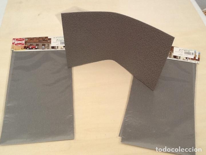 Maquetas: Planchas de muro flexible en tono gris para maquetas, trenes o warhammer - Foto 10 - 98646795