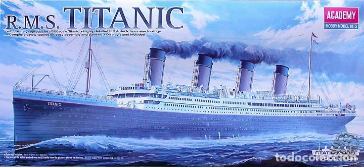 MAQUETA ACADEMY 1/700 RMS TITANIC #14402 (Juguetes - Modelismo y Radiocontrol - Maquetas - Barcos)