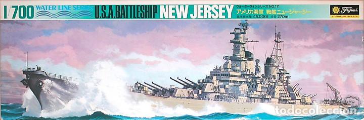 MAQUETA FUJIMI 1/700 USS NEW JERSEY BB-62 #111 (WL.B111) (Juguetes - Modelismo y Radiocontrol - Maquetas - Barcos)