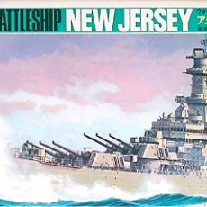 Maquetas: MAQUETA FUJIMI 1/700 USS NEW JERSEY BB-62 #111 (WL.B111). Lote 98888203