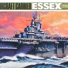 Maquetas: MAQUETA HASEGAWA 1/700 USS ESSEX CV-9 #108 (WL-A108). Lote 98889151