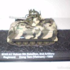 Maquetas: M-163A1 VULCAN USA. METAL ALTAYA ESCALA 1/72 & REVISTA. Lote 99347799