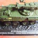 Maquetas: M1128 STRYKER M.G.S. USA. METAL ALTAYA ESCALA 1/72 & REVISTA. Lote 99511667