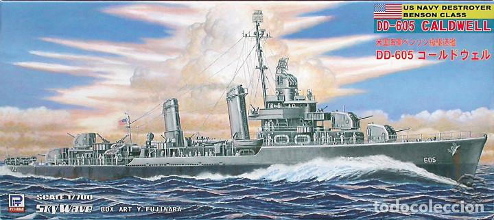 MAQUETA PIT-ROAD 1/700 USS CALDWELL DD-605 #W66 (Juguetes - Modelismo y Radiocontrol - Maquetas - Barcos)