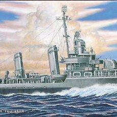 Maquetas: MAQUETA PIT-ROAD 1/700 USS CALDWELL DD-605 #W66. Lote 99828363