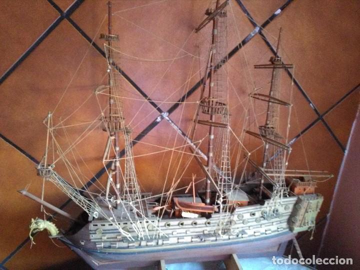 GALEON DE MADERA PARA RESTAURAR (Juguetes - Modelismo y Radiocontrol - Maquetas - Barcos)