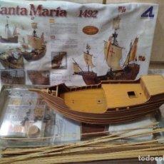 Maquetas: CARABELA DE MADERA, STA MARIA. Lote 100212495