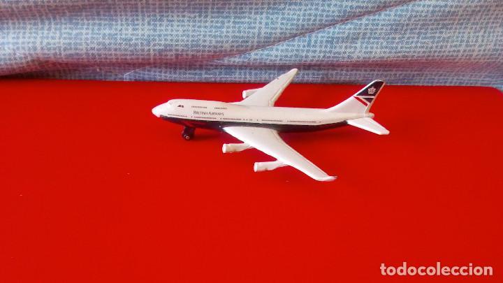 AVION SB-31 BOEING 747- 400. SKYBUSTERS DE MATCHBOX (Juguetes - Modelismo y Radio Control - Maquetas - Aviones y Helicópteros)