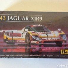 Maquetas: JAGUAR XJR9 HELLER. Lote 100430411