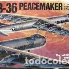 Maquetas: MONOGRAM - B-36 PEACEMAKER 5703 1/72 . Lote 100781471