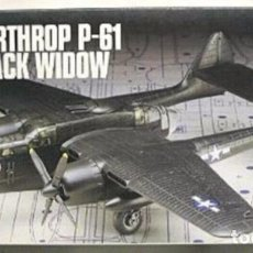 Maquetas: AIRFIX - NORTHROPP-61 BLACK WIDOW 04006 1/72. Lote 100790355