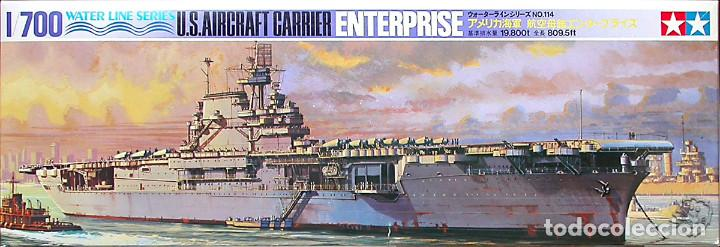 MAQUETA TAMIYA 1/700 USS ENTERPRISE CV-6 #114 (77514) (Juguetes - Modelismo y Radiocontrol - Maquetas - Barcos)