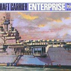 Maquetas: MAQUETA TAMIYA 1/700 USS ENTERPRISE CV-6 #114 (77514). Lote 101223259