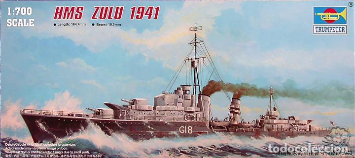 MAQUETA TRUMPETER 1/700 HMS ZULU #05758 (Juguetes - Modelismo y Radiocontrol - Maquetas - Barcos)