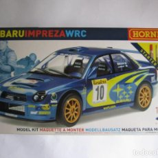Maquetas: MAQUETA COCHE SUBARU IMPREZA WRC ESCALA 1 / 32 MARCA HORNBY 13,5 CM. Lote 101394119