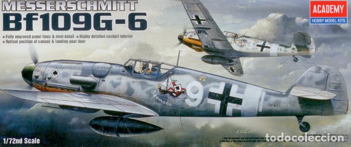 ACADEMY - MESSERSCHMITT BF-109 G6 1670 1/72 (Juguetes - Modelismo y Radio Control - Maquetas - Aviones y Helicópteros)