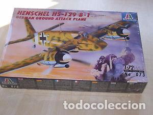 ITALERI - HENSCHEL HS-129 B-1 073 1/72 (Juguetes - Modelismo y Radio Control - Maquetas - Aviones y Helicópteros)