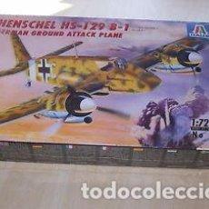 Maquetas: ITALERI - HENSCHEL HS-129 B-1 073 1/72. Lote 101408727