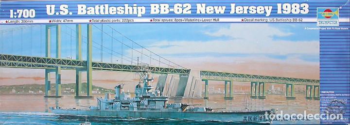 MAQUETA TRUMPETER 1/700 USS NEW JERSEY BB-62 '1983' #05702 (Juguetes - Modelismo y Radiocontrol - Maquetas - Barcos)