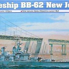 Maquetas: MAQUETA TRUMPETER 1/700 USS NEW JERSEY BB-62 '1983' #05702. Lote 101492327